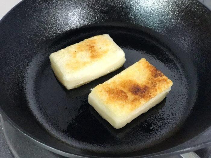 焼き餅の美味しい焼き方