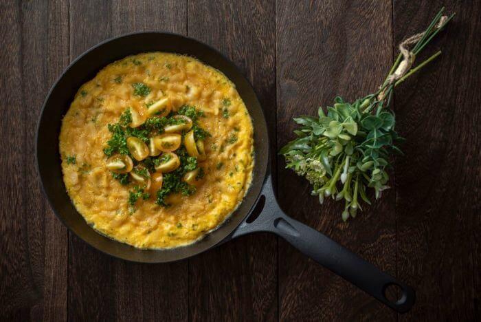 メイン級卵料理:スパニッシュオムレツ