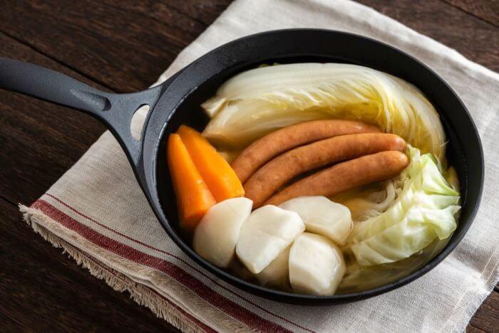 サラダ感覚スープ:ポトフ